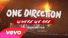 One Direction - Where We Are (Concert Film Extended Trailer) WATCH ITTTTTTTT! Seriously, it gave me goosebumps!!