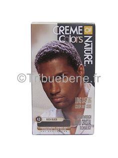 coloration permanente 40 rich black homme creme of nature dcouvrez lharmonie de - Coloration La Rich