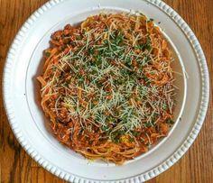 DIY Pasta Sauce with Fettuccine Pasta Recipe