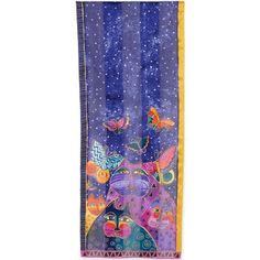 Laurel Burch Dogs and Doggies Silk Scarf - Free Shipping On Orders Over $45 - Overstock.com - 13906628