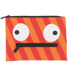 Paperchase - Monsters flat pencil case