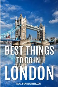 Whether you have a few days or a few hours in London, there's so much to see and do. Here are all the best things to do in London. The capital of England is a must-visit Europe Travel Guide, Travel Guides, Travel Destinations, Travel Abroad, Amazing Destinations, Scotland Travel, Ireland Travel, Things To Do In London, London Eye