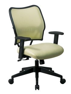 SPACE 13 Series Office Chair - Deluxe Kiwi VeraFlex® Back GREENGUARD Certified. Model No. 13-V66N1WA