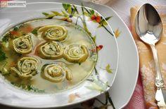 Куриный суп с чесночными галушками  Автор: Людмилa Семенюк