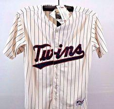 3f38f864d Minnesota Twins Baseball Jersey  33 NWT Ivory Majestic Size 50 SS 50th  Season  Majestic