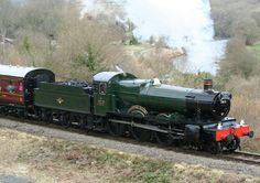 Classic Steam Train Collection Castle and Manor Locomotive Diesel, Steam Locomotive, Abandoned Train, Steam Railway, British Rail, Train Engines, Great Western, Train Journey, Steam Engine