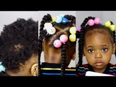 Can´t Braid? try this protective hairstyles for short natural old kid/ toddler/ black kid Black Baby Girl Hairstyles, Little Girls Natural Hairstyles, Kids Braided Hairstyles, Protective Hairstyles, Braids For Short Hair, Braids For Kids, Girl Short Hair, Bob Braids, Curly Short