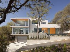Definitely like the garage under the house..City View House | Architecture STYLE