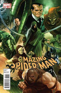the Amazing Spider-Man #647 by Marko Djurdjevic