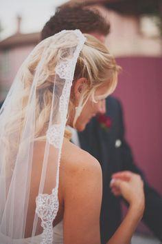 mantilla veil   Kristen Weaver Photography   Glamour & Grace