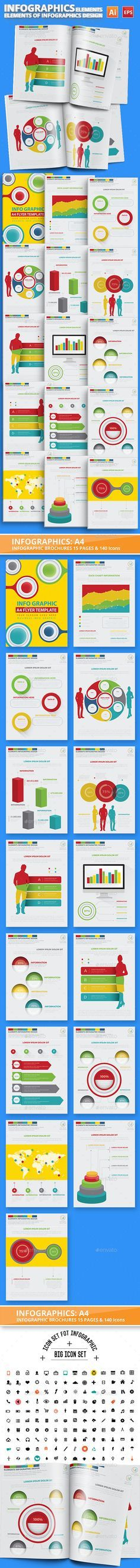Elements Of Infographic Design Template Vector EPS, AI Illustrator. Download here: http://graphicriver.net/item/elements-of-infographic-design/16665505?ref=ksioks