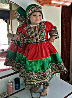 #afghan #little #girl #national #dress #afghani