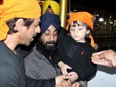 Pics: Shah Rukh Khan visits Golden Temple in Amritsar with son AbRam