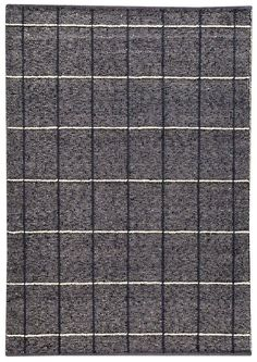 Brooklyn Hand-Woven Charcoal Area Rug