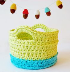 Crochet basket Free Crochet Patterns and Tutorials