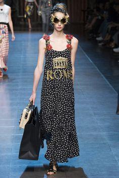 Dolce & Gabbana Primavera/ Verano 2016  Milan Fashion Week Dolce & Gabbana - Pasarela