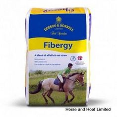 Dodson Horrell Fibergy 20kg A versatile chaff that can be fed to leisure horses horses on box rest or convalescing veterans that are maintaining  condition, and laminitics.