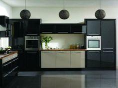 Modern Kitchen Ideas 2013 modern black and white kitchen | kitchen/cocinas | pinterest