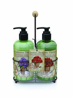 Gardeners Therapy Hand Care Collection Inc. Cleansing Hand Wash & Hand Lotion Gardeners Therapy http://www.amazon.com/dp/B00JPY88BA/ref=cm_sw_r_pi_dp_mqTgvb13AH71H
