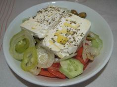 Spetzofai (Greek Recipe with Spicy Sausages and Peppers) with Mushrooms or Eggplants, Bacon and Feta