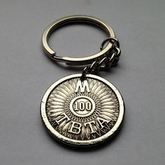 USA New York City Triborough Bridge & Tunnel Authority Toll token TBTA coin pendant necklace keychain Expressway transportation No.001461 by coinedJEWELRY on Etsy