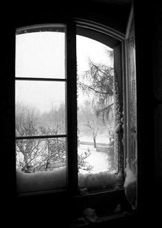 The sky was nothing but a flurry of falling flakes. Lanes were levelled; hollows filled; the snow clogged the streams; obscured windows, and lay wedged against doors. There was a faint murmur in the air, a slight crepitation, as if the air itself were turning to snow - The Years, Virginia Woolf