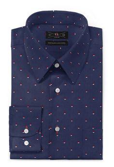 Blue micropattern 100% cotton Shirt http://www.tailor4less.com/en-us/men/shirts/2464-blue-micropattern-100-cotton-shirt