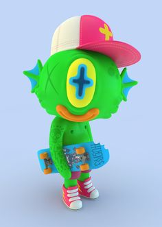 3D Illustrations by El Grand Chamaco