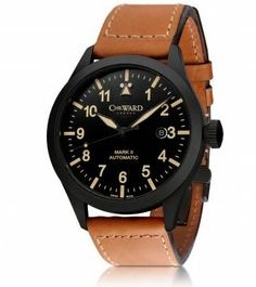 C8 Pilot by Christopher Ward - retro chic