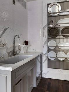 Una idea de organizar la cocina.!