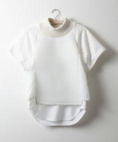 NON TOKYO(ノントーキョー)の2015秋冬商品 LAYERD T-SHIRTS(Tシャツ/カットソー)|ホワイト
