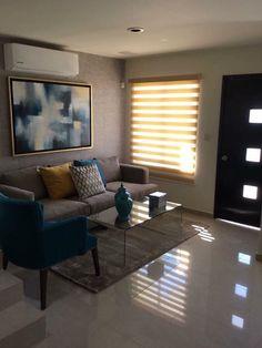 Small Apartment Interior, Apartment Chic, Studio Apartment Decorating, Apartment Design, Small Room Decor, Living Room Decor, Small Living Rooms, Living Room Designs, Narrow House Designs