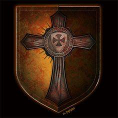 Escudo templario con cruz http://www.latostadora.com/eltronco/cruz_templaria_9/419671