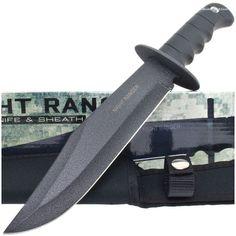 BK927 Night Ranger Tactical Bowie Knife & Sheath | MooseCreekGear.com | Outdoor Gear — Worldwide Delivery! | Pocket Knives - Fixed Blade Knives - Folding Knives - Survival Gear - Tactical Gear