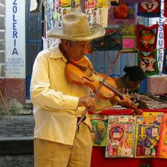 """Discovered by Yasmin, """" Live music in the market. How refreshing!"""" at Puebla, Mexico."""