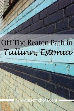 Going outside the Old Town in Tallinn Estonia