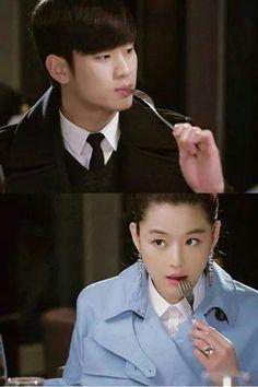 . My Love From Another Star, Jun Ji Hyun, Star K, Korean Language, Korean Actors, Korean Drama, Mantra, Dramas, Imagination