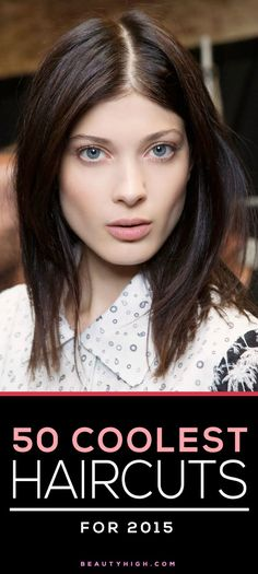 major haircut inspiration - the 50 coolest cuts for 2015 // sleek long bob with a middle part