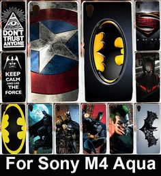 Cheap case for sony xperia, Buy Quality case for sony directly from China case for Suppliers: Good Selling Cool Batman Soft TPU & Hard PC Cover Case For Sony Xperia Aqua Dual Phone Housing Shell Sony Xperia, Aqua, Batman, Cell Phone Covers, Phone Cases, Captain American, American Paint, Shells, Cool Stuff
