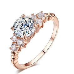 Ethnic, Regional & Tribal Contemplative Gold Plating Love Handwritten Design Heart Fashion Simulated Diamond Silver Ring