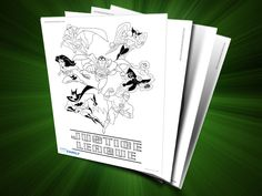 Themed Printables: Justice League