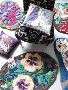 Natalie Lete, rugs and pillows