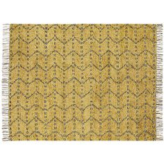 kelso hand knotted shag rug | CB2