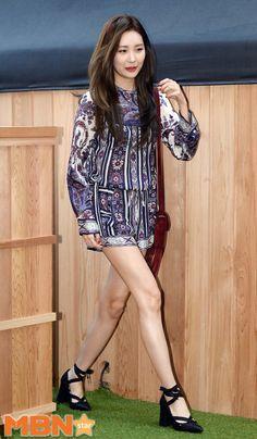 Wonder Girls' Sunmi attends 'CAUDALIE' event in gorgeous patterned romper!   Koogle TV