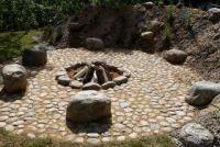 bålplads - sten