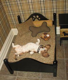"sleeping basset...many of them LOVE to sleep ""belly up""!"