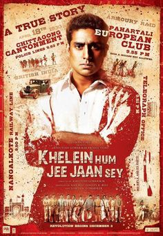 Find more movies like Khelein Hum Jee Jaan Sey to watch, Latest Khelein Hum Jee Jaan Sey Trailer, Children who are not allowed by the oppressive British colonists to play football decide to join a group of freedom fighters. M Office, Freedom Fighters, Clu, Drama Movies, Movie Posters, Film Poster, Popcorn Posters, Film Posters, Posters