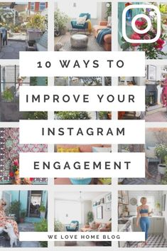 Follow these top 10 tips to improve your instagram engagement and soon you'll be the boss of this popular app. I think tip 9 will surprise you! How To Introduce Yourself, Improve Yourself, Most Popular Image, Interior Stylist, Love Home, Great Photos, Decorating Tips, Brighton, The Good Place