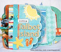 Talbot Island Mini Album - Scrapbook.com