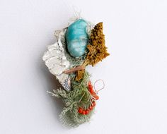 Giardinoblu Organic Jewelry  Beautiful day_ brooch